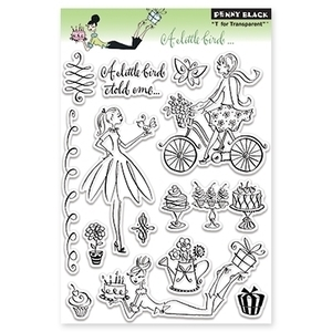 Penny Black Clear Stamps A LITTLE 30-102
