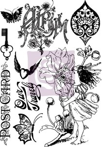Prima Marketing NATURE GARDEN Cling Stamp Set 950255*