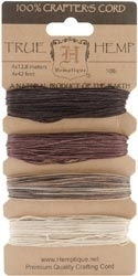 Hemptique EARTHY 10lb Natural Hemp Cord Set 029010*