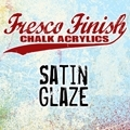 Paper Artsy Fresco Finish SATIN GLAZE Acrylic Paint 1.69oz FF23