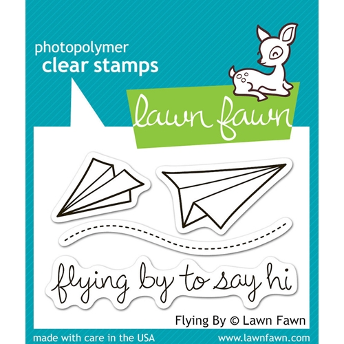 Lawn Fawn FLYING BY Clear Stamps Preview Image