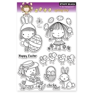 Penny Black Clear Stamps SPRING DAY 30-099