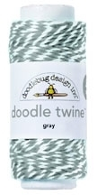 Doodlebug GRAY Doodle Twine Preview Image