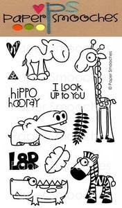 Paper Smooches ZOO CREW Clear Stamps Kim Hughes Preview Image