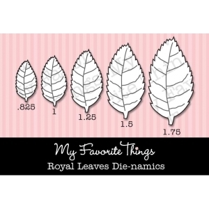 My Favorite Things ROYAL LEAVES Die-Namics MFT Preview Image
