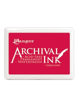 Ranger Archival Ink Pad JUMBO VERMILLION A3P30522 zoom image