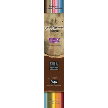 Tim Holtz Core'dinations DISTRESS Colorcore 2.25 X 12 Cardstock  278921
