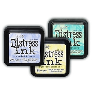 Tim Holtz SPRING SEASONAL DISTRESS INK Pads Set 3 Pack Ranger TXX34896