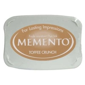 Tsukineko Memento Ink Pad TOFFEE CRUNCH ME-805 Preview Image