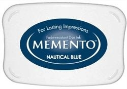 Tsukineko Memento Ink Pad NAUTICAL BLUE ME-607 zoom image