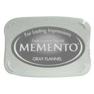 Tsukineko Memento Ink Pad GRAY FLANNEL ME-902 Preview Image