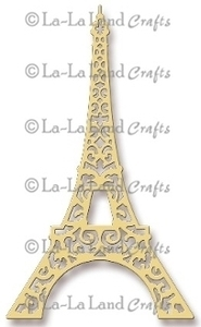 La-La Land Crafts EIFFEL TOWER Steel Dies 8001
